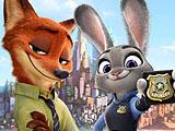 Джуди и Ник - поиск улик
