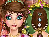 Прическа принцессы