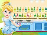 Маленькая Золушка: уборка на кухне