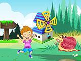 Интерьер в детском мультфильме