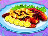Приготовление свежей красной рыбы