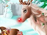 Рудольф: Рождественский макияж