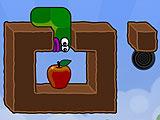 Яблоки червя