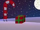 Рождественская карамельная трость