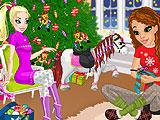 Маленькая пони! Мой Рождественский подарок!