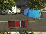 Хаос на городской парковке