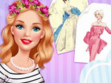 Барби на винтажной ярмарке