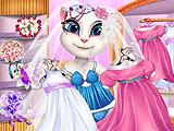 Говорящая Анжела готовится к свадьбе