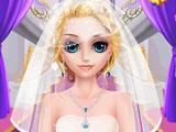 Принцесса Лиза в свадебном салоне