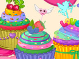 Цветные кексы с любовбю