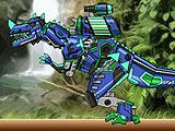 Ремонт дино робота - Цератозавр