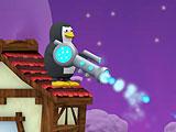 Пингвин против снеговика
