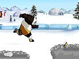 Бег голодной панды