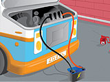 Ремонт автомобиля мороженого