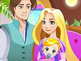 Рождение малыша Рапунцель