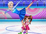 Соревнования на коньках