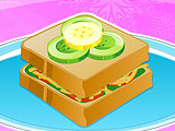 Хлеб с соусом песто