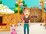 Малышка Хлоя: день в зоопарке