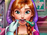 Холодное сердце: принцесса у стоматолога