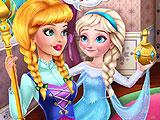 Шалость Няня: ребенок Снежная Королева