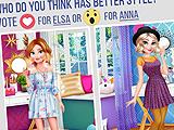 Анна против Эльзы: модные разборки