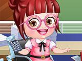 Малышка Хейзел - бухгалтер