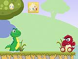 Приключение маленького динозавра