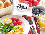Пазлы из еды: Завтрак
