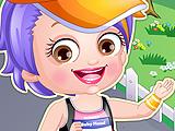 Малышка Хейзел: бегун