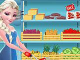 Элиза готовит бургеры