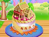 Приготовить торт - кукольный домик