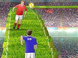 Футбольные навыки бегуна
