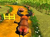 Сбежавший бык
