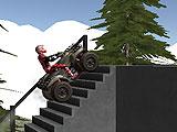 Квадроцикл в промышленной зоне
