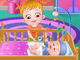 Малышка Хейзел с новорожденным ребенком 2