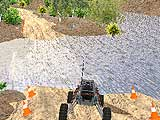 4х4 гонки грузовика по холмам