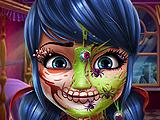 Леди Баг: Макияж для Хэллоуина