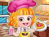 Малышка Хейзел - пекарь