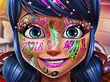 Леди Баг: Новогодний макияж