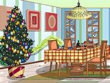 Новогоднее украшение комнаты
