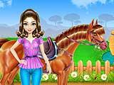 Уход за лошадью и верховая езда