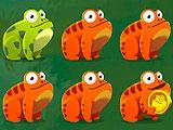 Покрасить лягушку