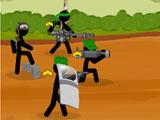 Армия стикменов: Командный бой