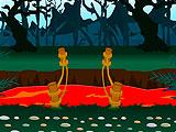 Побег чокнутого колдуна из леса