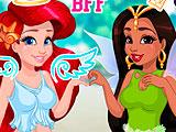 Косплей соверменной принцессы