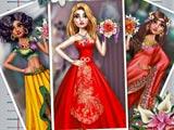 Экзотические свадебные наряды