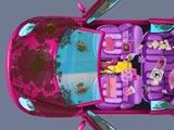 Автомойка машины принцессы