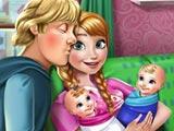 Анна рожает близнецов