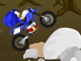 Соник гонка на мотоцикле