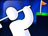 Стикмен играет в гольф